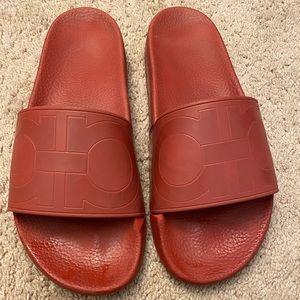 Salvatore Ferragamo Men's Slides Sandals.